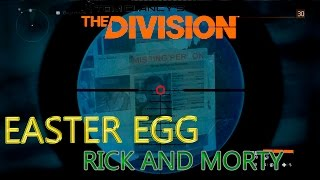 The Division - Easter Egg - Rick and Morty
