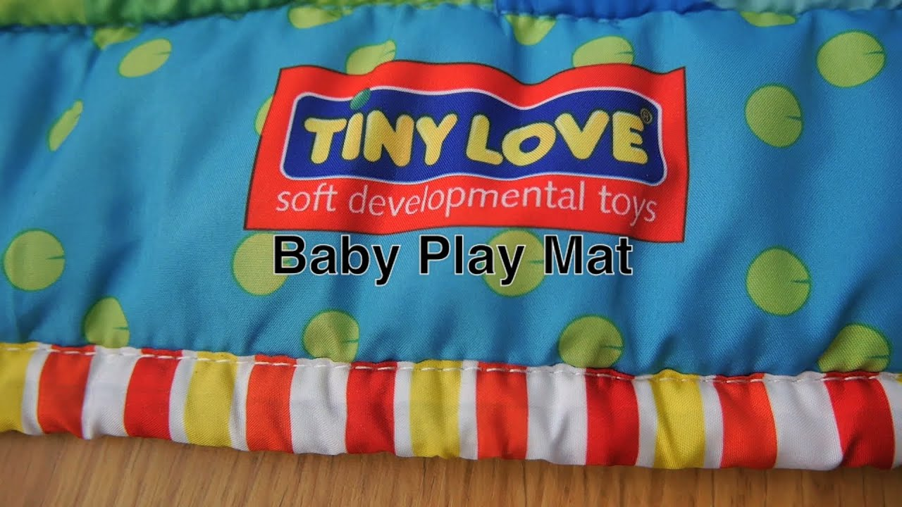 Baby Play Mat For Infant Floor Activity & Tummy Nap Time in