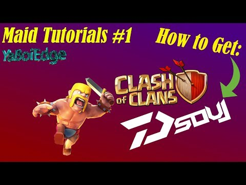 How To Get Dark Souls COC Private Clash Of Clans Server! // Maid Tutorials #1