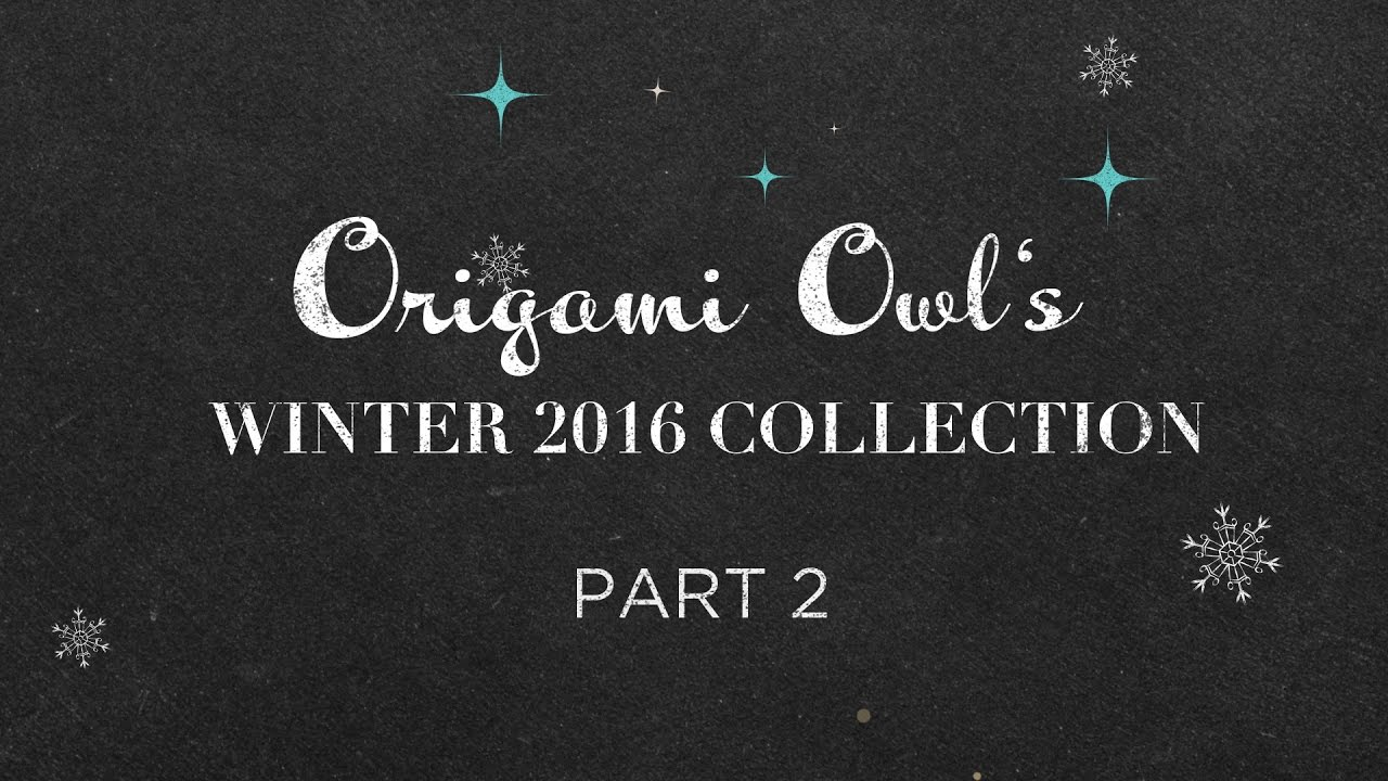 Origami Owl Holiday 2016 Collection: Day 2