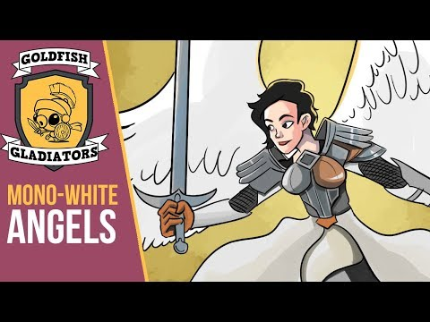 Goldfish Gladiators: Mono-White Angels (Arena)