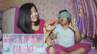 Whats In My Mouth Challenge!