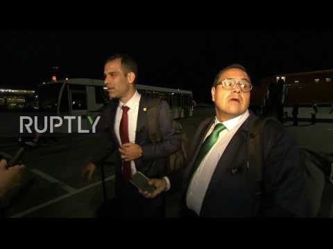 Russia: Mexico national football team arrive in Kazan ahead of Confederations Cup