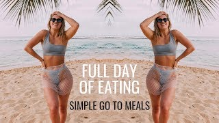 WHAT I EAT IN A DAY   Quick Healthy Meals