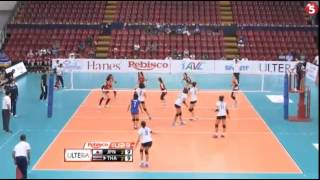 Volleyball U23 Thailand vs Japan set5