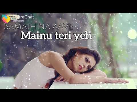 New 💖Whatsapp Status Video 💖pehlan Wali Disdi Na Tere Vich Saadgi
