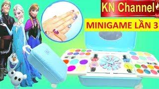 KN Channel MINIGAME LẦN 3   CHƠI THỬ ĐỒ CHƠI 7 GIẢI THƯỞNG    ĐỒ CHƠI TRANG ĐIỂM LÀM MÓNG TAY thumbnail