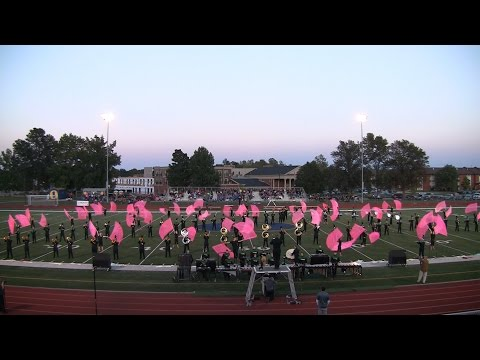 Fort Zumwalt North Panther Pride Band, Metro East Marching Classic 2015