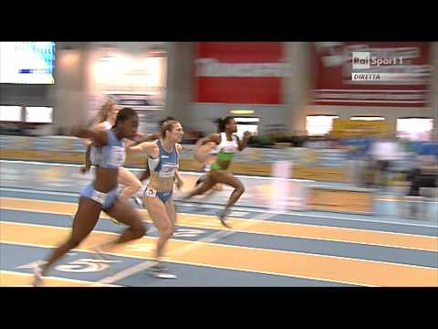 Ancona Campionati Italiani assoluti indoor 60m donne 2013