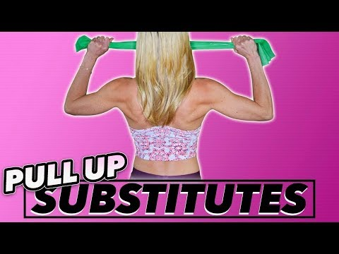7 Pull Up Substitutes [Without A Pull Up Bar] | LiveLeanTV