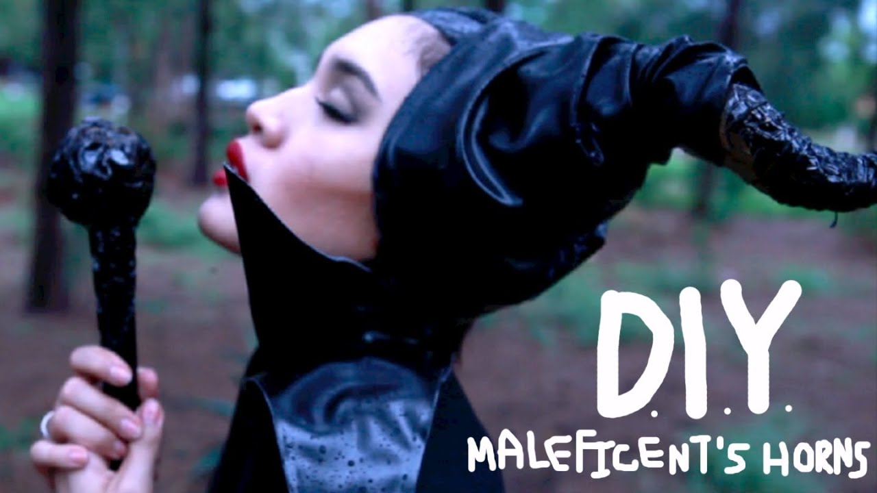 How To Be Maleficent For Halloween Diy Horns Dress