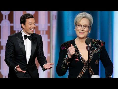 Thumbnail: Hollywood takes down Donald Trump at Golden Globes