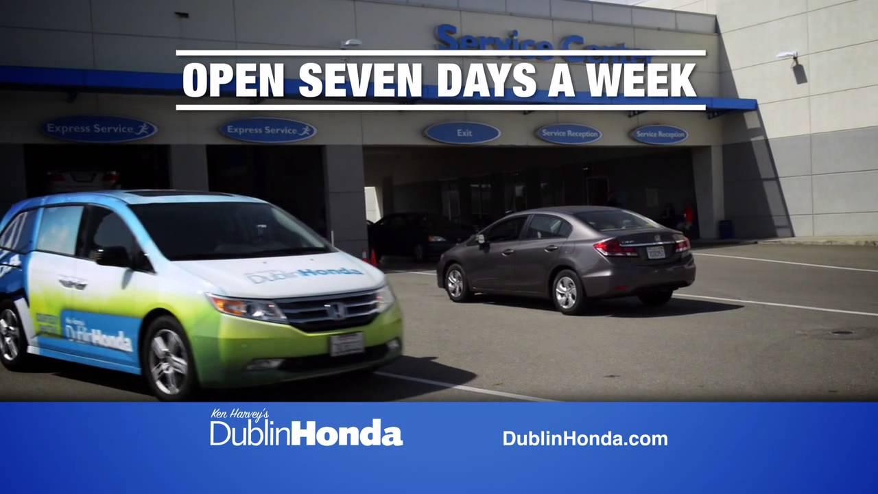Dublin Honda Service >> Dublin Honda Love Service