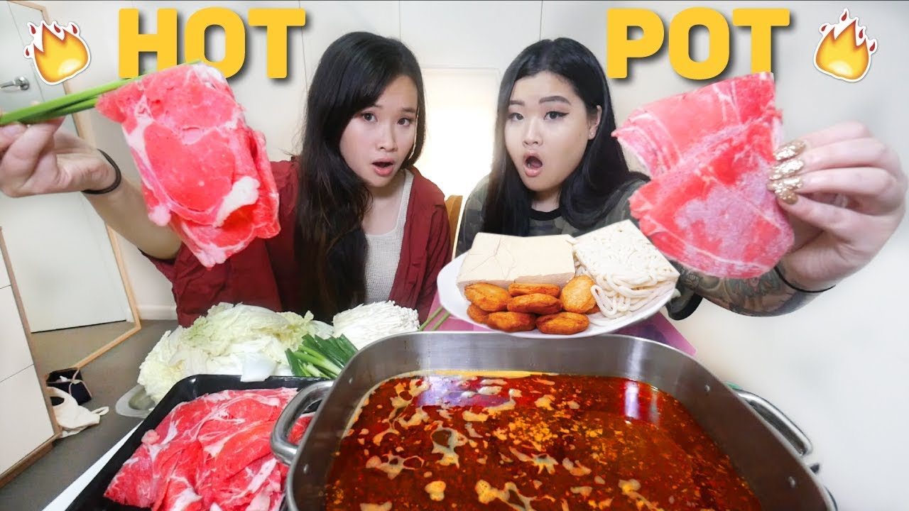 Download SPICY HOT POT SICHUAN FLAVOUR MUKBANG | Eating Show