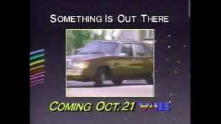 CKVU Something is Out There 1988 promo