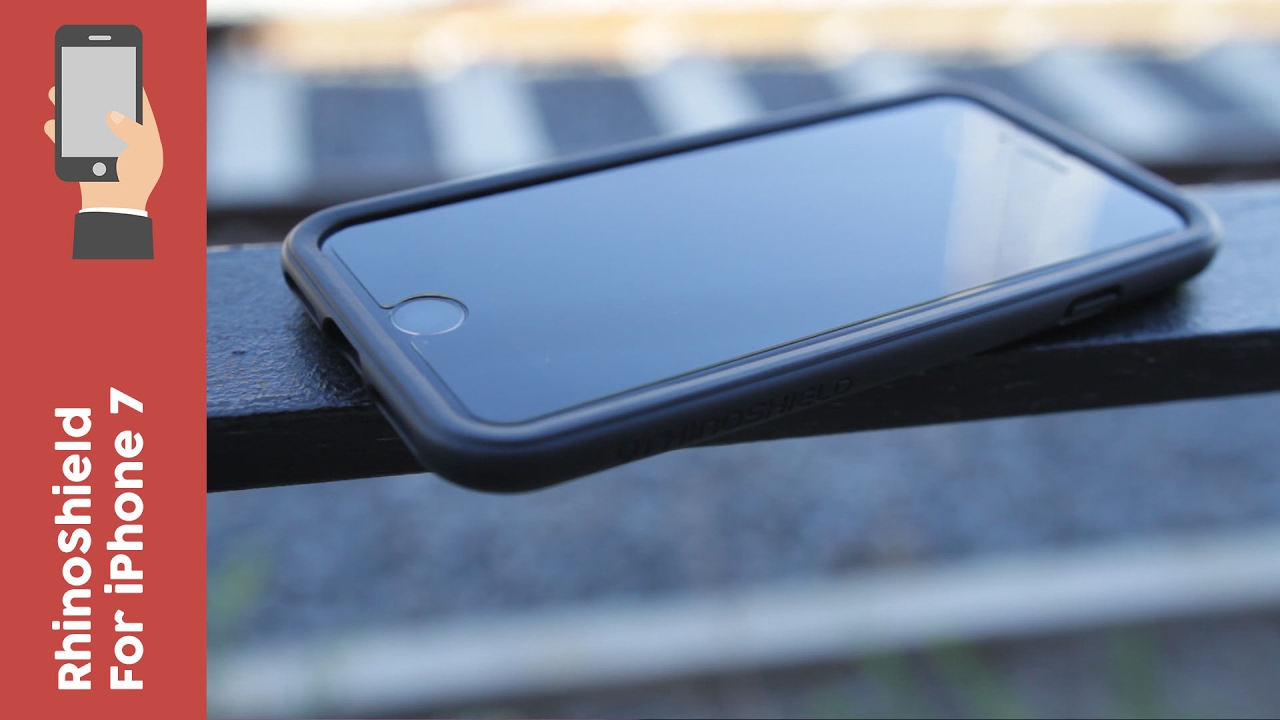 new arrival 9134e 2e126 RhinoShield Bumper & Screen Protector For iPhone 7 Review