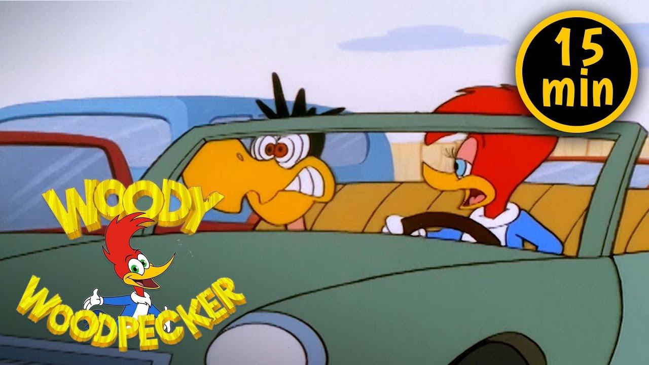 Winnie's New Car   2 Full Episodes   Woody Woodpecker