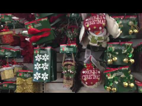 Dollar Tree Christmas 2019 In Astoria Queens NYC • Nice Early Decor+Cards