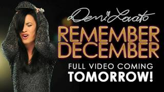 Demi Lovato-Remember December-Official Music Video Preview No.3