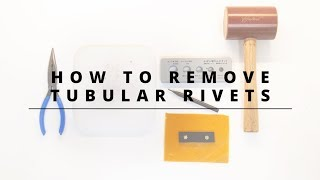 How to Remove Tขbular Rivets with Rivet Removal Tool