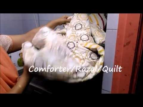 Comforter Wash Cycle In LG Front Loading Washing Machine (Part IV)