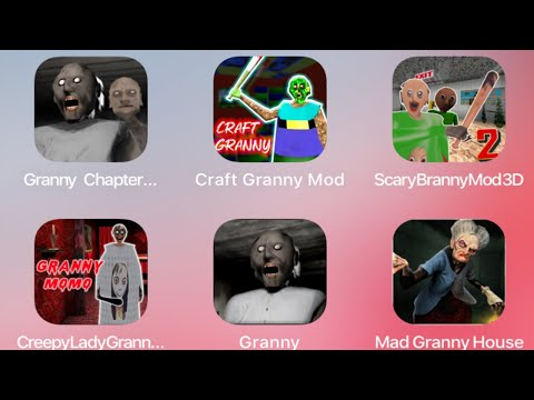 Granny Mod Horror Game Apk Mods Menu Update Gameplay Mobile Hello Neighbor Escape Fan Choice Friday