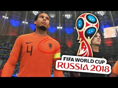 WHAT IF THE NETHERLANDS MADE THE WORLD CUP!?! FIFA 18 WORLD CUP MODE