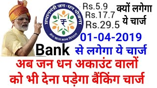 Ab Jandhan Bank Account Me Bhi Lagega Charge