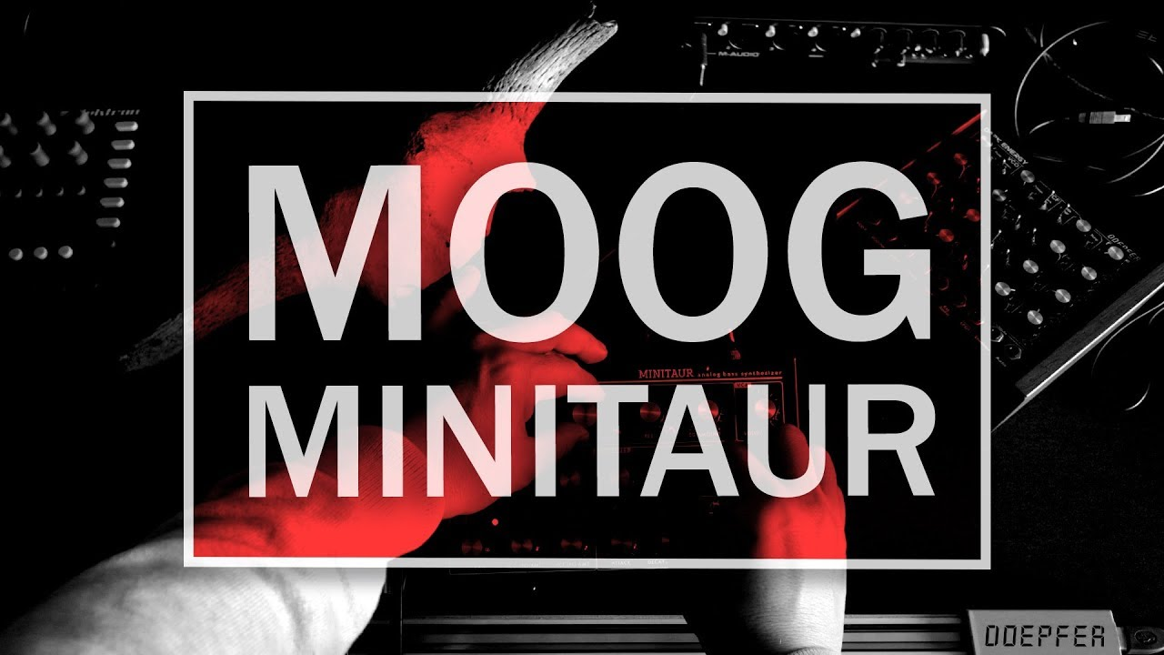 Sound design using the moog minitaur youtube.