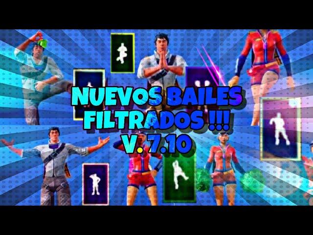 NUEVOS BAILES FILTRADOS V 7.10 !!!