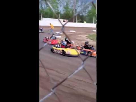 Snydersville raceway kart racing, jr sportsman