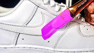 How To Customize Air Force 1's! 🎨👟 + Giveaway | Xavier Kickz