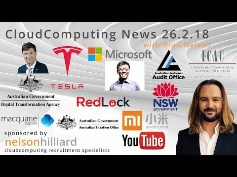 W/C 26.2.18 News Cloud Computing - Nelson Hilliard