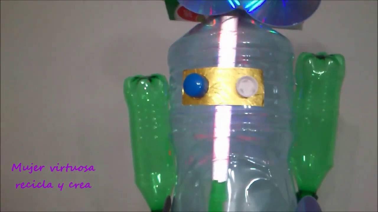 Idea para hacer una antorcha robot de material reciclable - Que hace un robot de cocina ...
