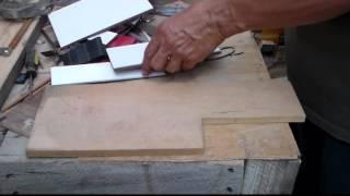 Como cortar azulejos rápido y sin herramientas especiales. thumbnail