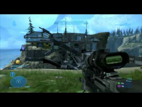 Halo Reach Forge Map - Vortex