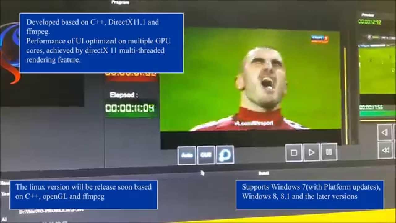 Wolf PlayOut | TV broadcast playout automation software | SD, HD, 2K, 4K