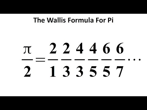 AMAZING Formula For Pi (π) - The Wallis Product