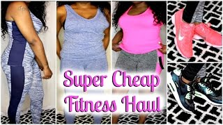 SUPER AFFORDABLE FITNESS HAUL| WORKOUT CLOTHING SHOES & MORE