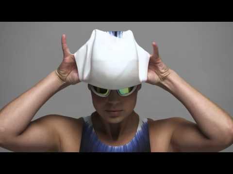 Как надевать шапочку Speedo Fastskin3