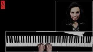 تعلم البيانو 1 - الدرس ١ الجزء ١ - ديانا تلحمي - إعزف