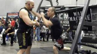 War Machine Body Weight And Core Training  At The Lafit Expo