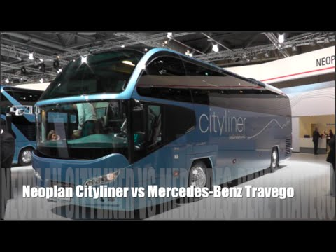 Neoplan Cityliner 2015 vs Mercedes-Benz Travego 2015