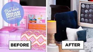 I Gave The Barbie DreamHouse A Bedroom Makeover