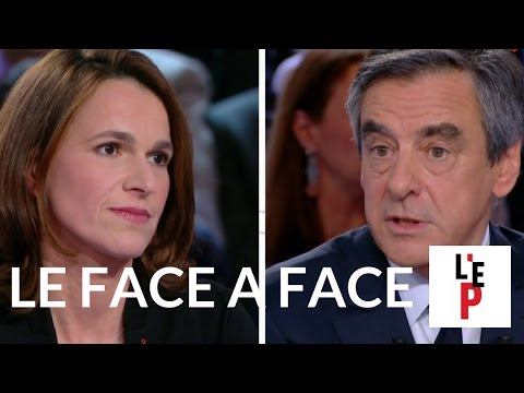 Face-à-face François Fillon / Aurélie Filippetti  - L'Emission politique (France 2)