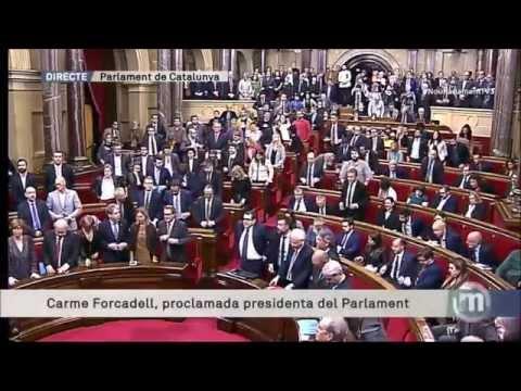 Cant del Segadors - Himne Nacional de Catalunya al nou Parlament 2015