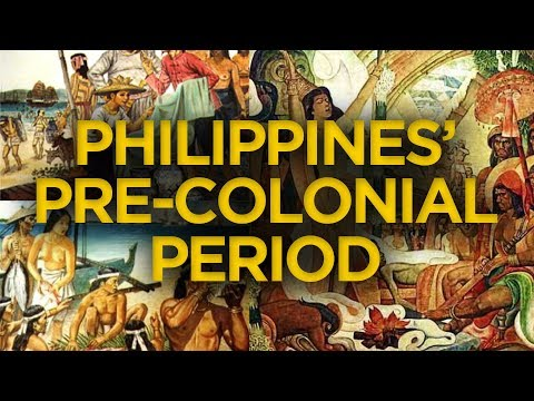 Philippine's Pre-Colonial Period