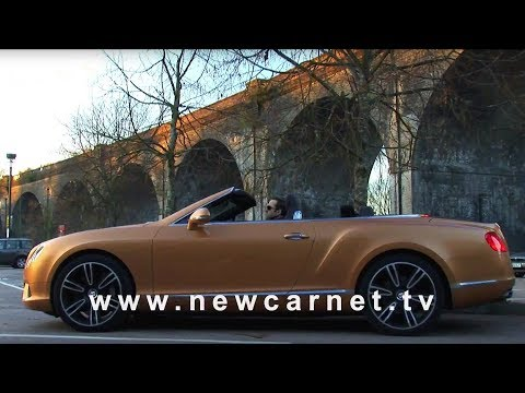 Bentley Continental GTC V8 video trailer