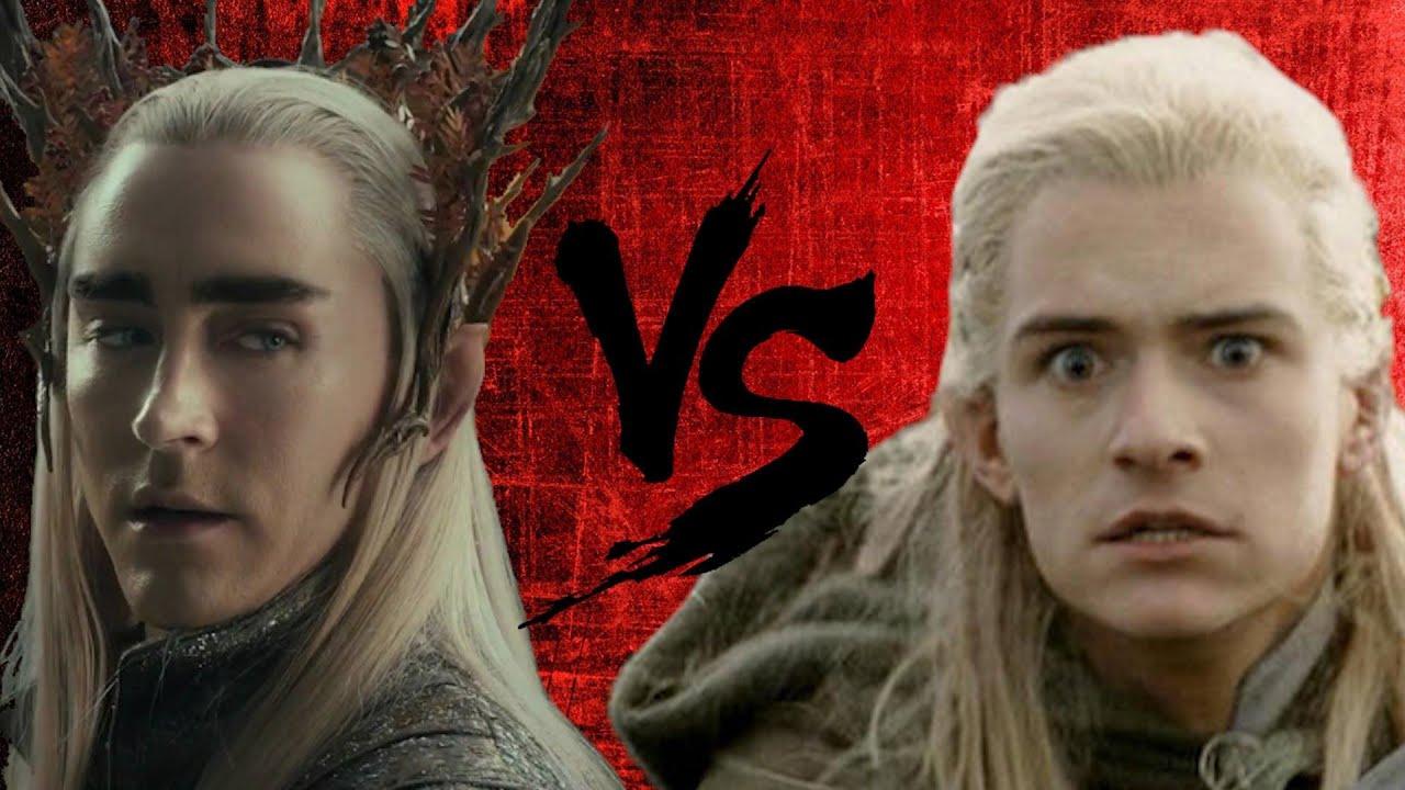 BFME2: RotWK - Thranduil vs. Legolas! - YouTube