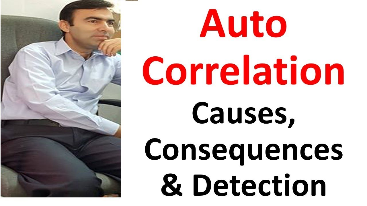 autocorrelation econometrics By analogy with the new form of moran's index, an autocorrelation coefficient is  defined with a standardized residual vector and a normalized.
